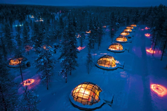 The Igloo village. I can deal with this kind of camping.