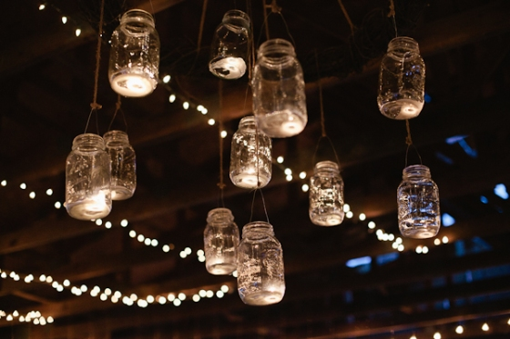 All of the (mason jar) lights. via Ruffled Blog.