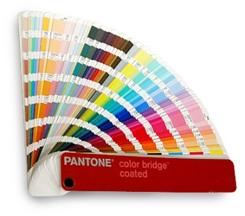Recognize these? Pantone Colour Swatch.