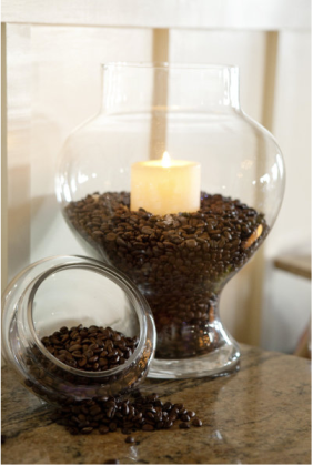 Mmmm coffee candle!