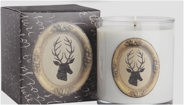 "My absolute favourite pine-scented candle. The description says that it's as fresh as a ""brisk walk in the woods""...the description doesn't lie."