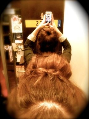 Marketing my aforementioned sock bun
