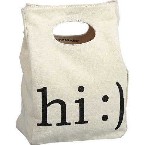 """My enviro-friendly """"brown bag"""", c/o CB2"""