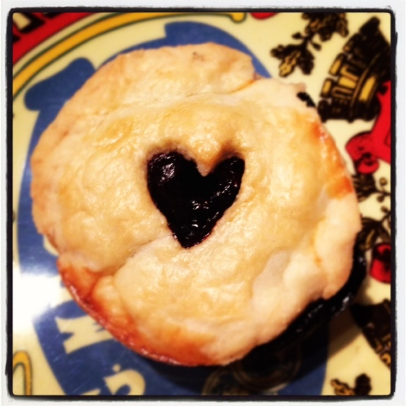 Nothing says love like pie...