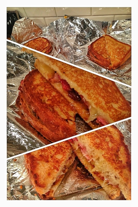 Simple grilled cheese? Not these sandwiches!