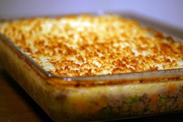 Shepherd's Pie, via Simply Recipes. It's easy to make this vegetarian!