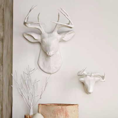 Awesome wall decor idea, via West Elm
