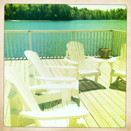 muskoka chairs in muskoka