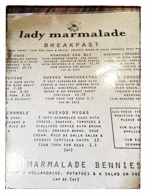 LM menu