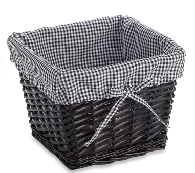 Storage Basket: adds a pop of pattern to ordinary storage
